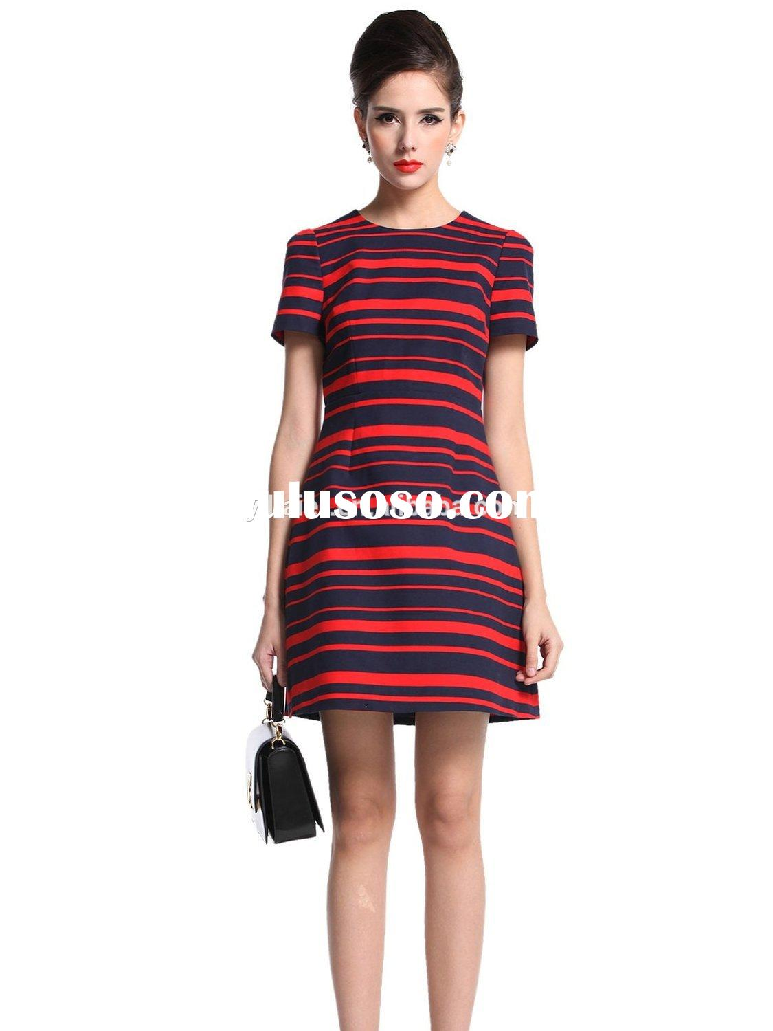latest high waist dress patterns for ladies