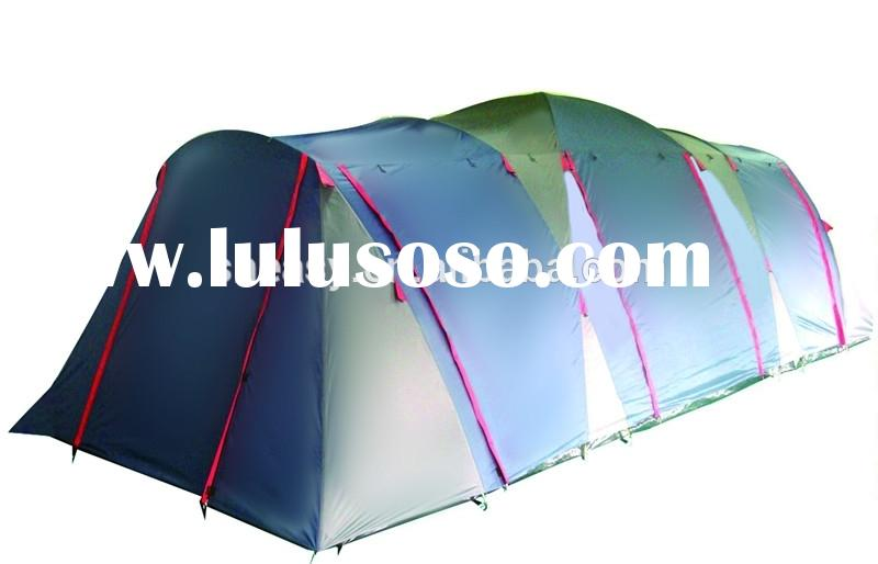 polyester large family camping tent for party with ISO9001