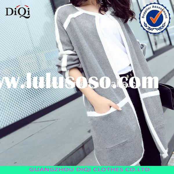 2014 autumn coat new sweater big size long sweater for women