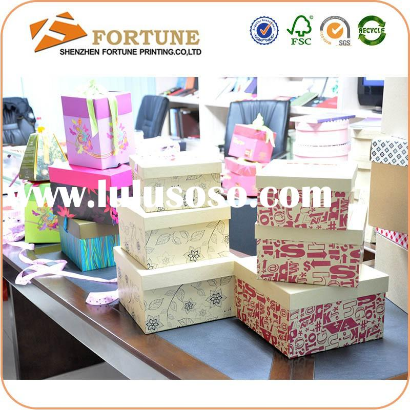 2015 Continued Hot Divided Cardboard Boxes,Decorative Round Cardboard Boxes With Lids,Decorative Car