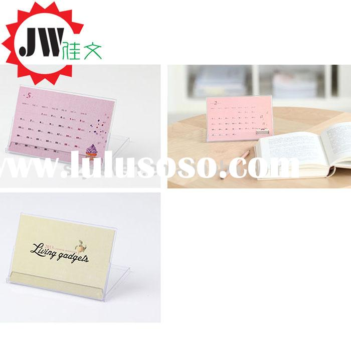 2015 new design monthly full color printing paper mouse pad calendar