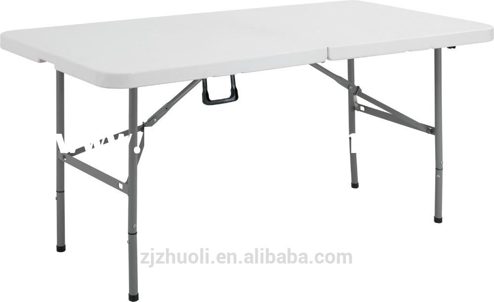 4FT Outdoor picnic table folding in half