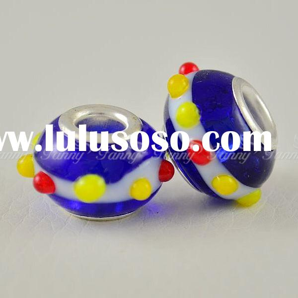 AC020 Wholesale Glass Beads European Handcrafted Lampwork Cheap Murano Glass Beads