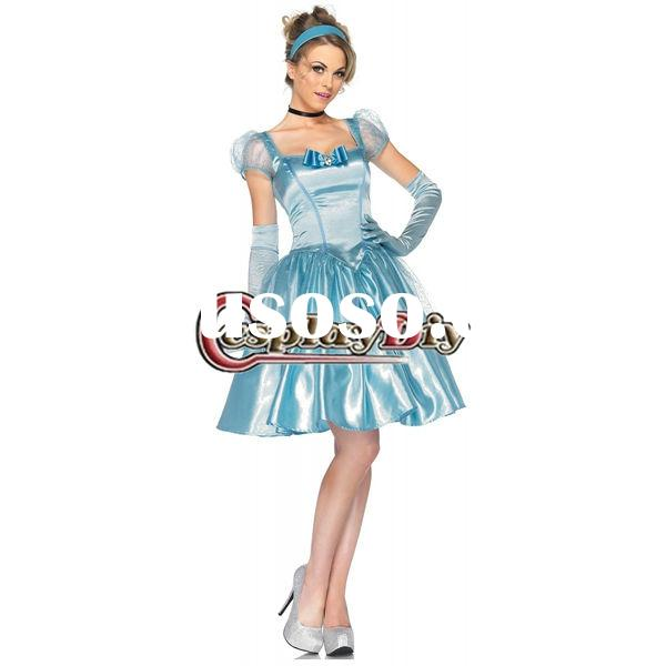 Best selling Halloween fancy dress Princess Cinderella costume