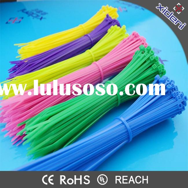 Cheap Prices Cable Ties Tie Down Strap CE UL ROHS Passed Self-locking Nylon Cable Tie Manufacturer