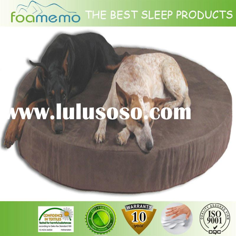 Cheap easy wash memory foam dog bed