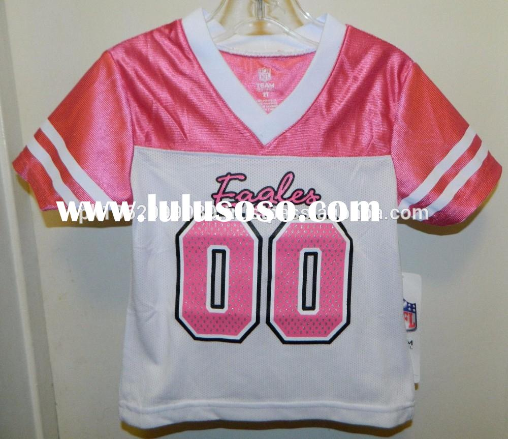 Custom Football Jersey, Sublimated american football jersey and pants, Sublimation college american