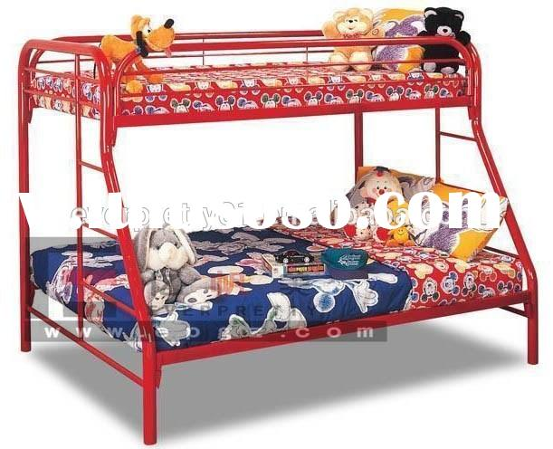 Customized School Furniture Student Double Deck Bed, Hot Sale Bedroom Furniture Kid's Modern