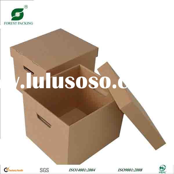 DECORATIVE CARDBOARD BOXES WITH LIDS FP600967
