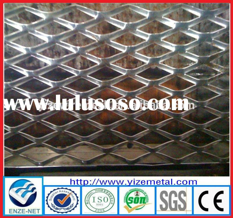 Decorative Aluminum Expanded Metal Mesh Panels/Decorative Metal Screen Mesh/Thick Expanded Metal Mes
