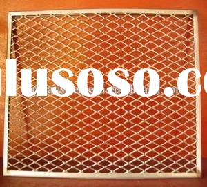 Decorative Expanded Light Weight Window Screen Metal Mesh Panels