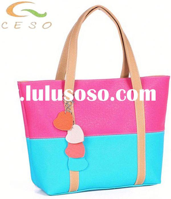 Fashion lady handbag designer handbags for sale 2013 school bags for teenage girls