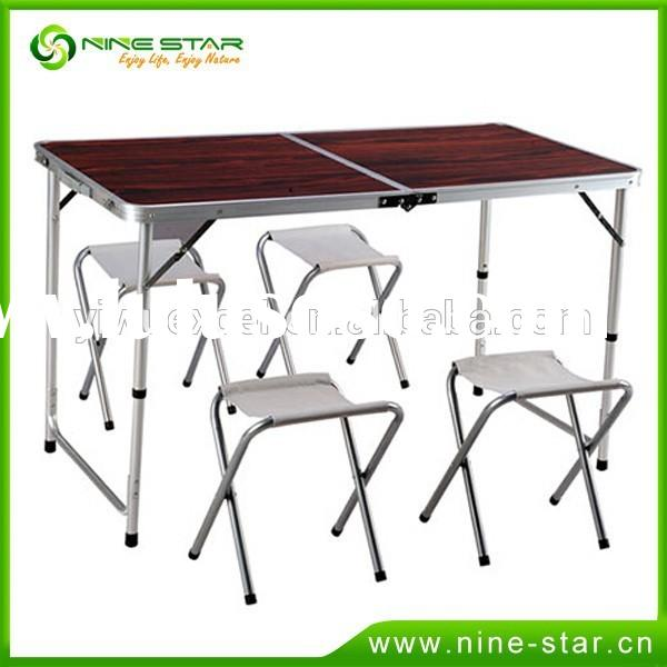 Hot sale outdoor portable picnic folding table for wholesale