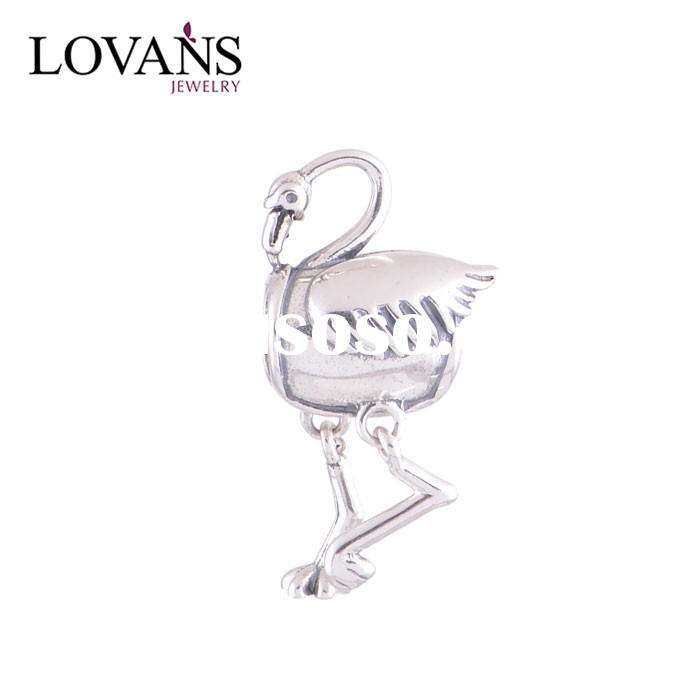 Hot Animal Charms For Christmas DIY Jewelry Making Silver Charm Beads Factory Jewelry YZ426