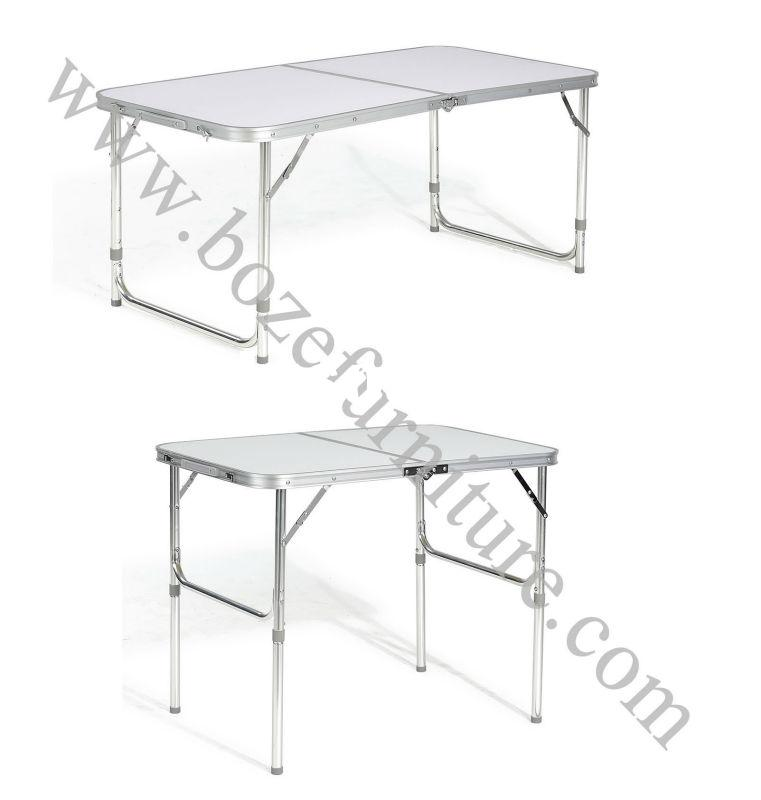 Hot Sale Portable Outdoor Folding Table/ Picnic Aluminum Folding Table