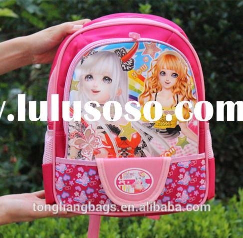 Hot sell cute school bag school kids backpacks for girls and boys