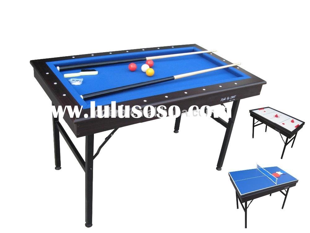 KBL-296 Kids Multi 3 in 1 game table( Mini Pool+ hockey+tennis table)