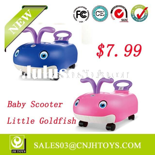 New product AU213 Lovely Little Goldfish Baby Scooter For Sale