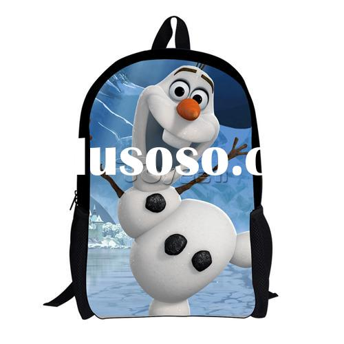 Newest hot sale Movie Frozen school Shoulder Bag 8 styles for girls and boys