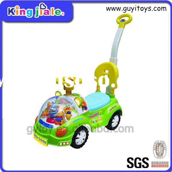 little baby ride on cars with push handle
