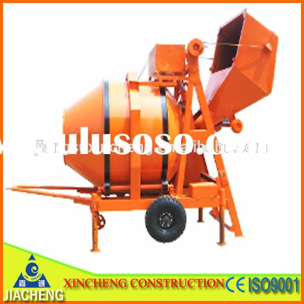 2014 certificate JZR350 diesel engine powered concrete mixer for sale