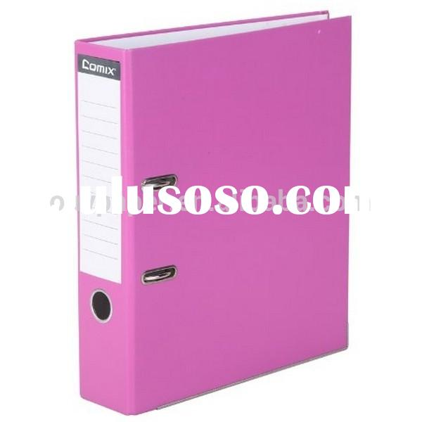 A4 hard cover file folder clipboard folder with pockets