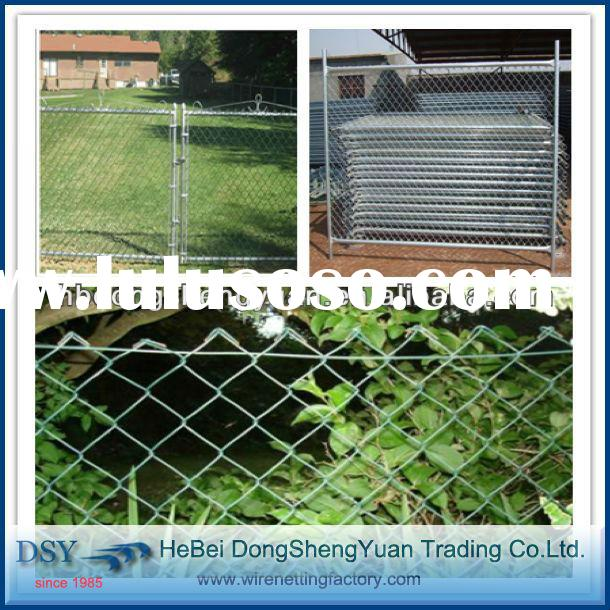 Anping best price pvc coated chain link fence cost/ agricultural fence for sale ( 28 years'