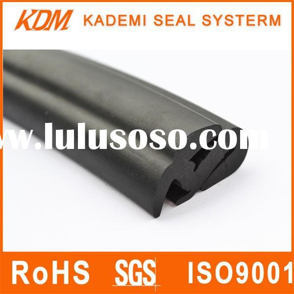 Anti-dust EPDM car rubber seal of universal moulding for windshield