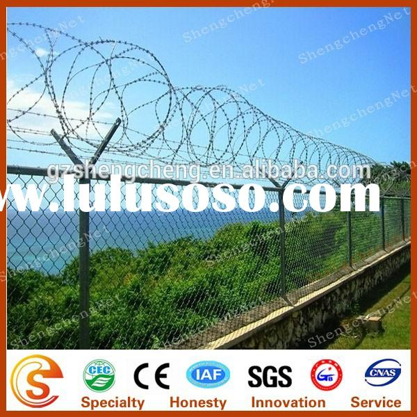 BTO 22 y shaped fence with barbed wire welded wire mesh fence China supplier