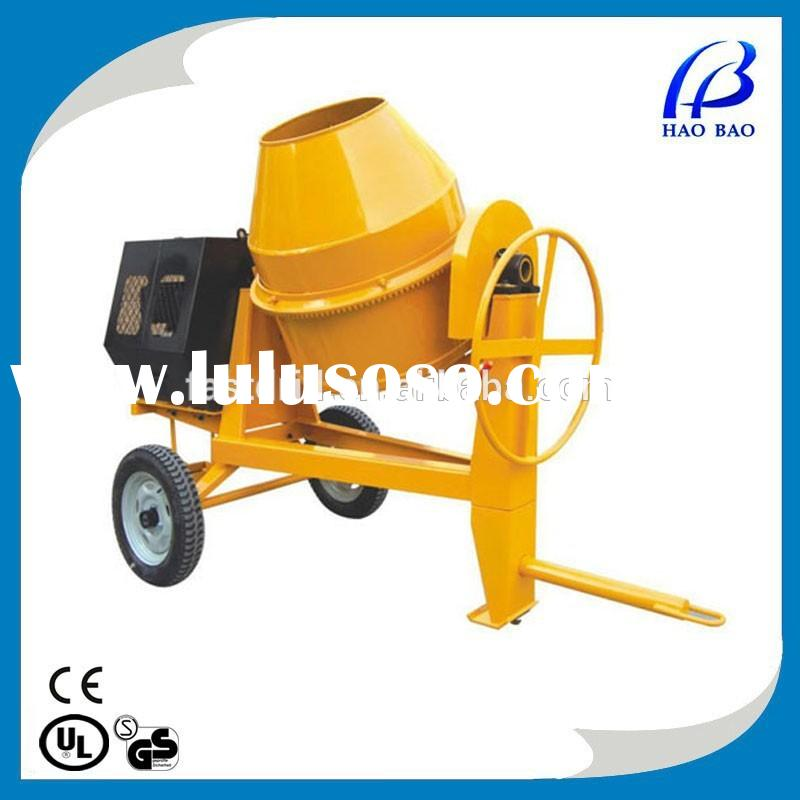 CM350D diesel power 350L concrete mixer,cement mixer,manual cement mixer
