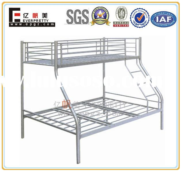 Cheap steel bedroom furniture loft bed for adult