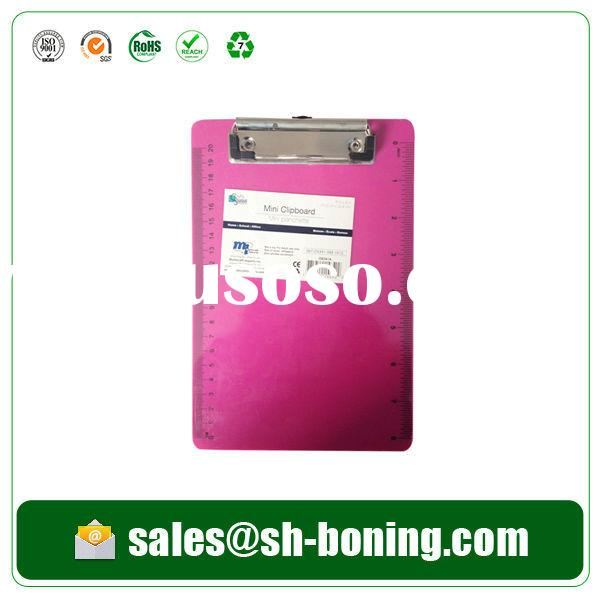 Clipboard of document folder made from hard pp