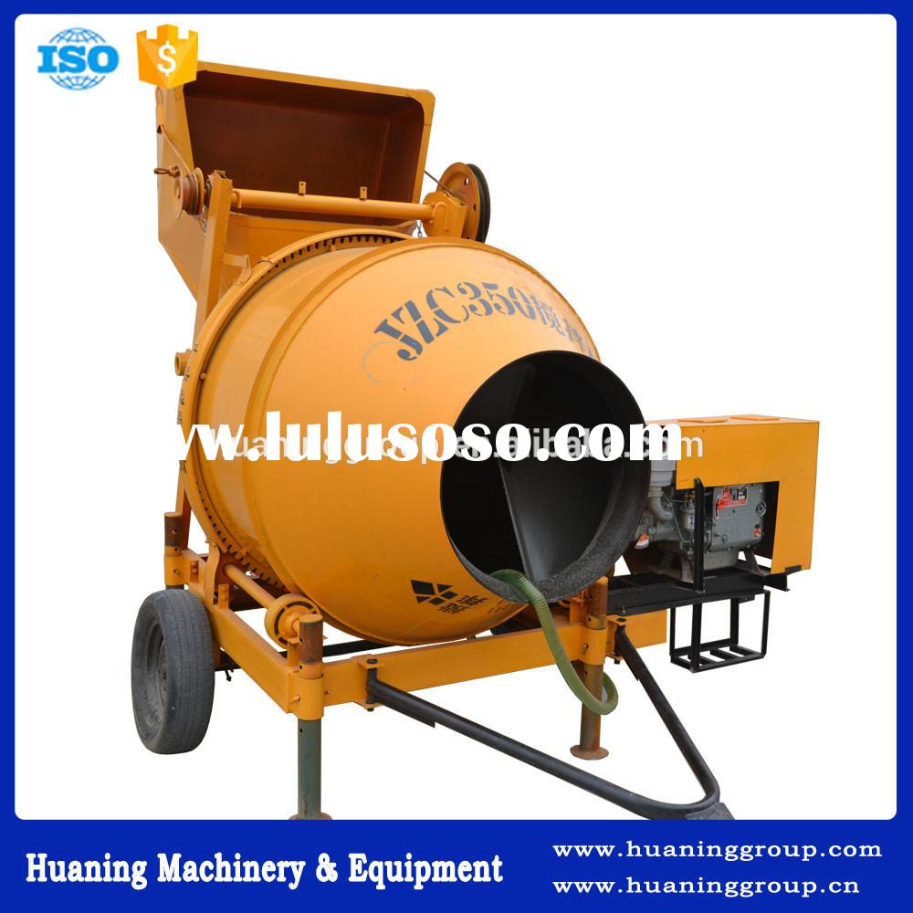 Competitive Price Heavy Duty Diesel Powered Concrete Mixer for Sale