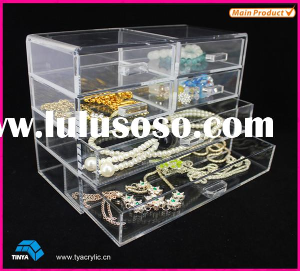 Cosmetic Organizer Acrylic Makeup Drawer Jewelry Storage