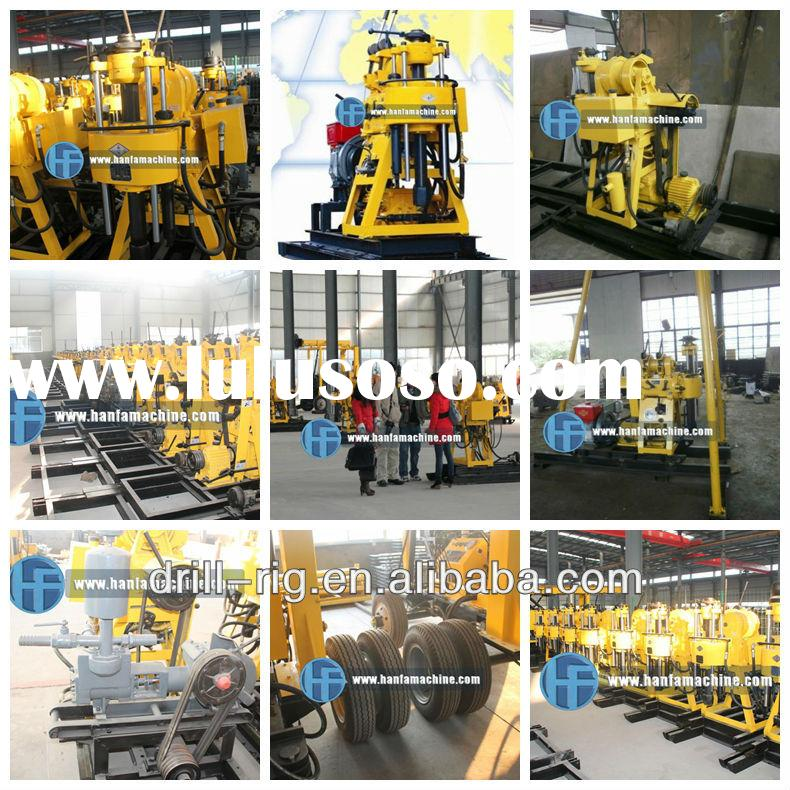 HF200 wheeled used water well drilling equipment! Sales No.1 in 2012~