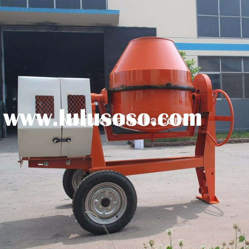 High capacity JFC350 diesel engine powered concrete mixer