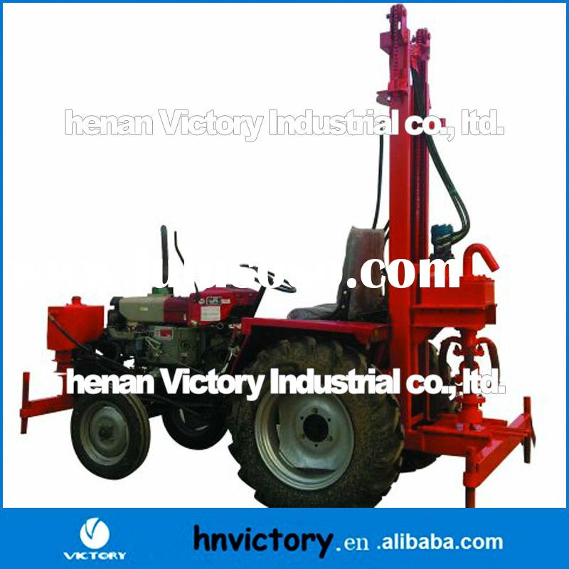 High quality and low price hydraulic used water well drilling equipment