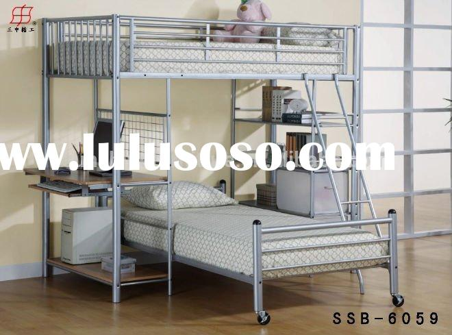 Hot Sale Cheap Metal Loft Bed for Adults