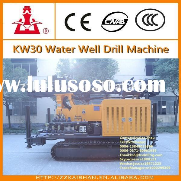 KW30 water well drilling equipment/Portable water well drilling equipment/used water well drilling e