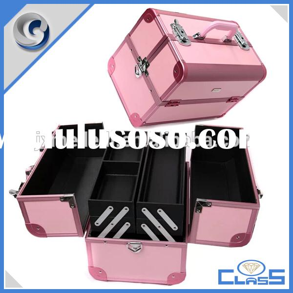 MLD-AB04 New Lightweight Popular Multi Beauty Aluminum Case For Cosmetics Makeup Tools Jewelry Stora