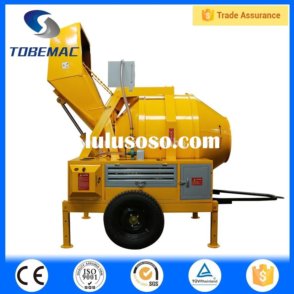 WJ-JZF-350 Diesel Oil Power Concrete Mixer(CE)
