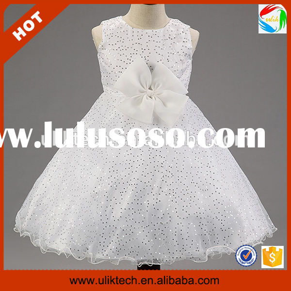 Wholesale very very cheap flower girl dresses factory price (Ulik-A0175)