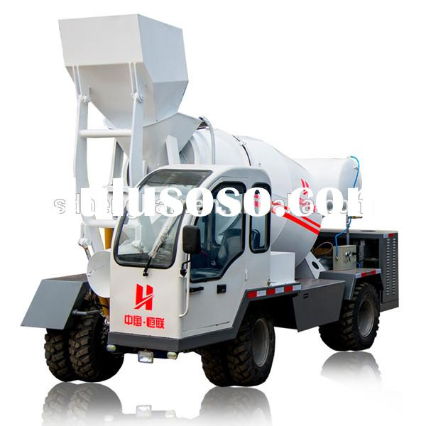 diesel engine powered concrete mixer/diesel engine cement mixer
