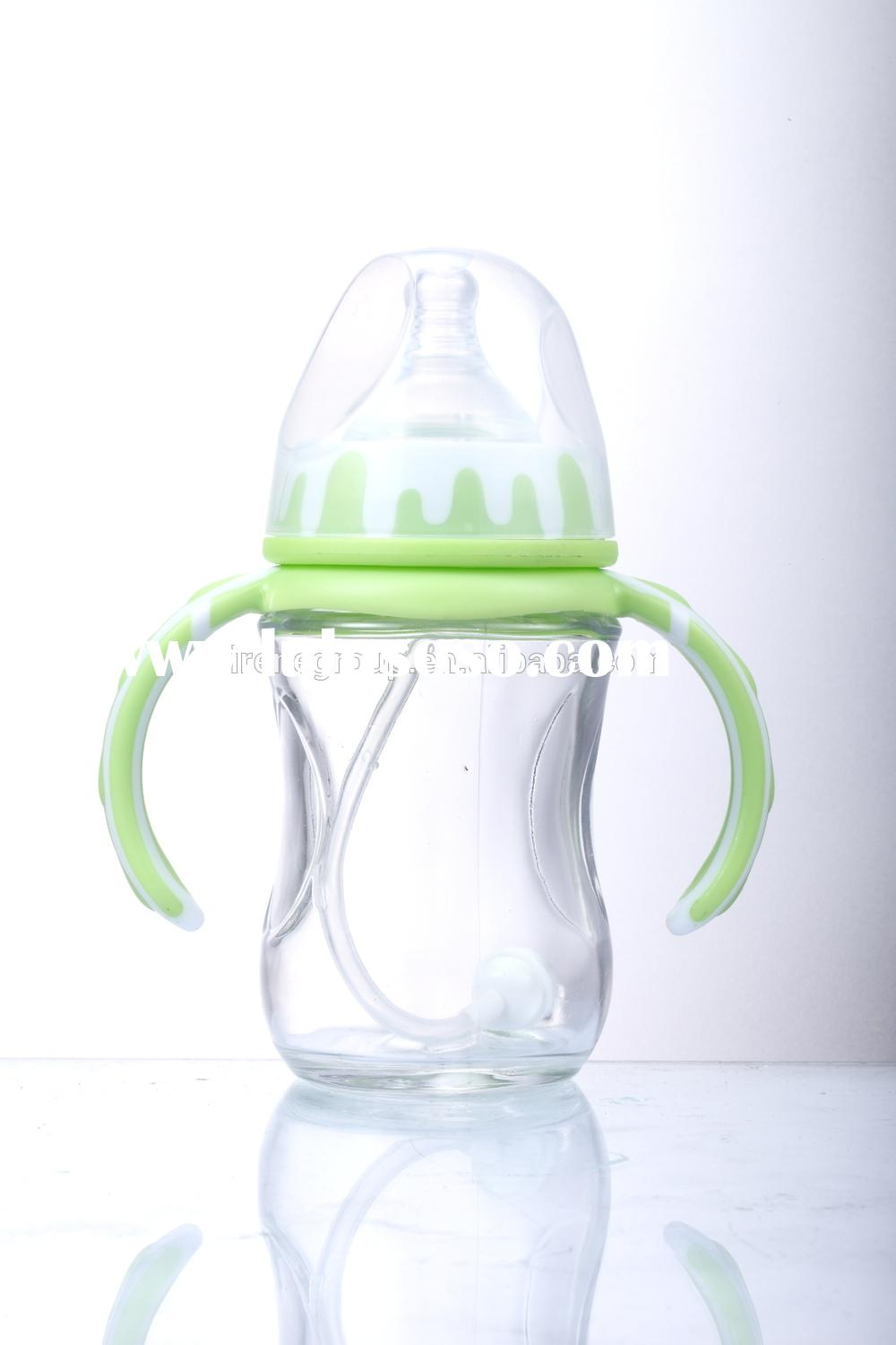 super flint baby feeding bottle with spoon