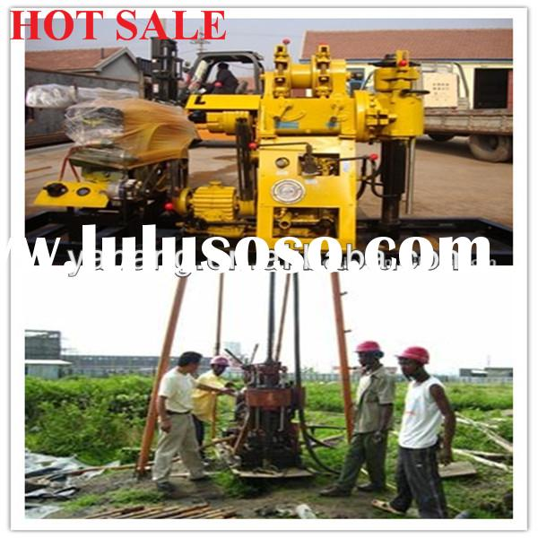 used water well drilling equipment YH130Y on trailers 100m120m150m depth