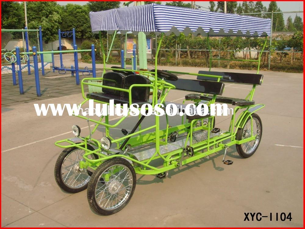2 and 4 person bicycle