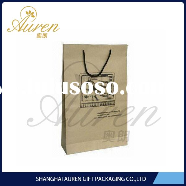 2015 Design cheap white plastic bags with handles