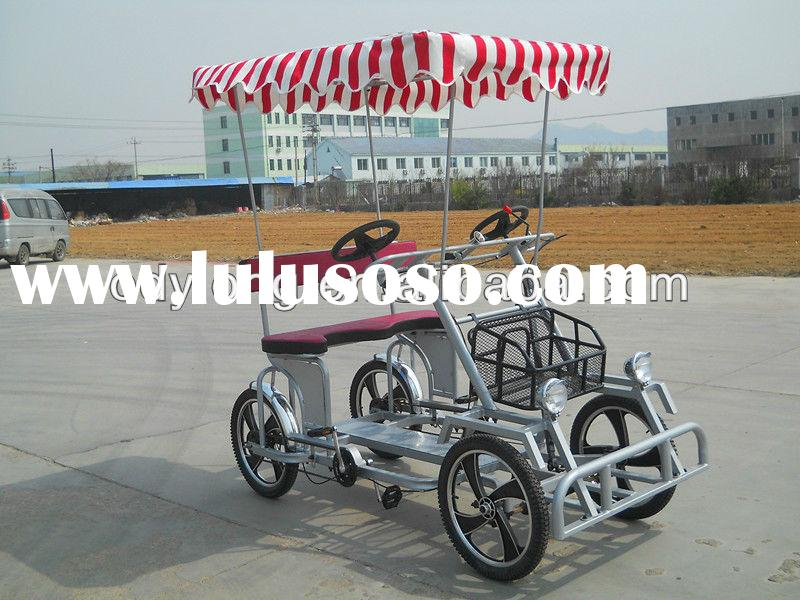 4 wheel bicycle,super go-kart from China manufacturer,two person bikes F5160