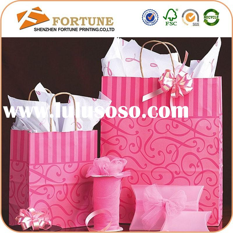 Art Paper/Custom Paper Bag Handle,Paper Bag Without Handle,Rice Paper Bag