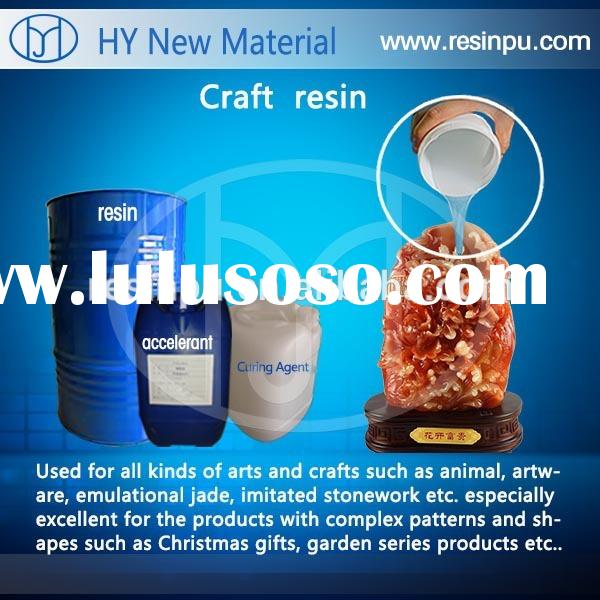 Crystal clear resin for arts/crafts/casting/mold making etc